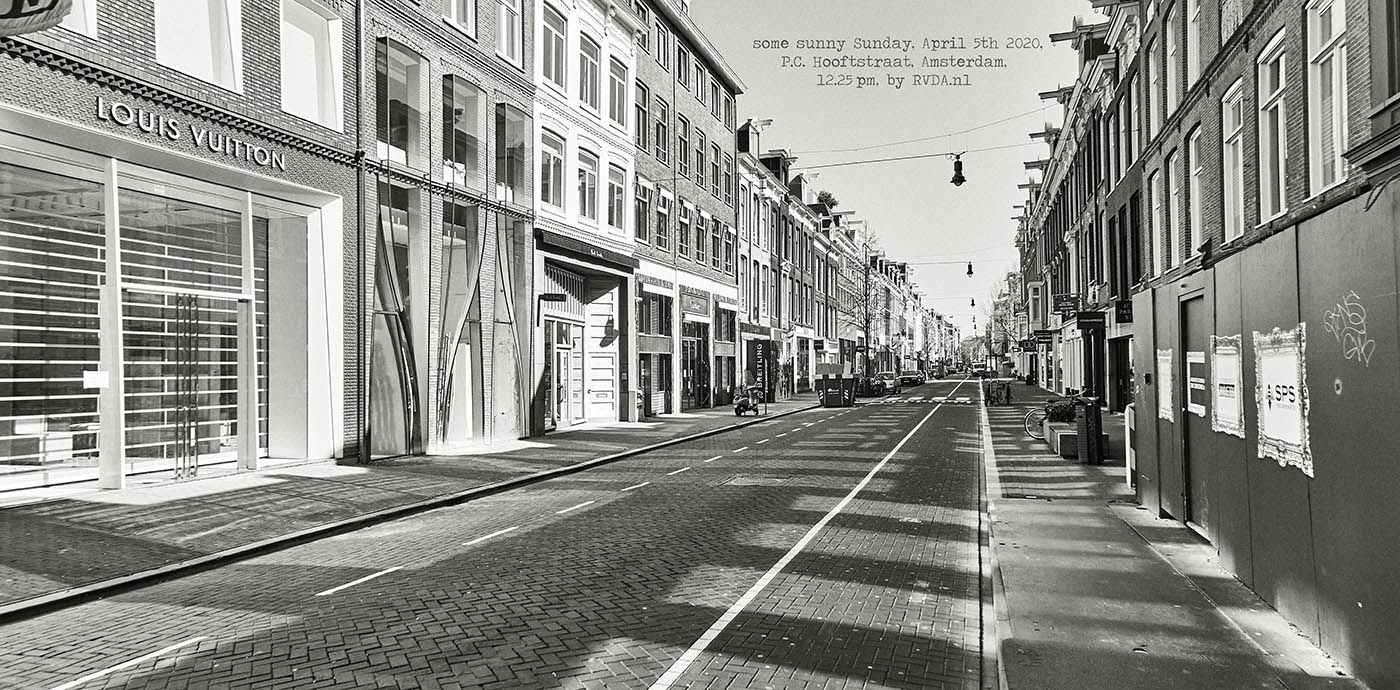 Covid-19-Corona-20-04-05-Amsterdam-by-RVDA-L1017643-P-C-Hooftstraat-txt
