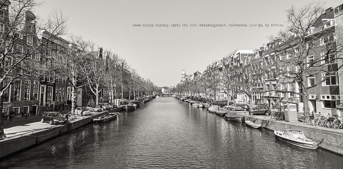 Covid-19-Corona-20-04-05-Amsterdam-by-RVDA-L1017675-Keizersgracht-txt