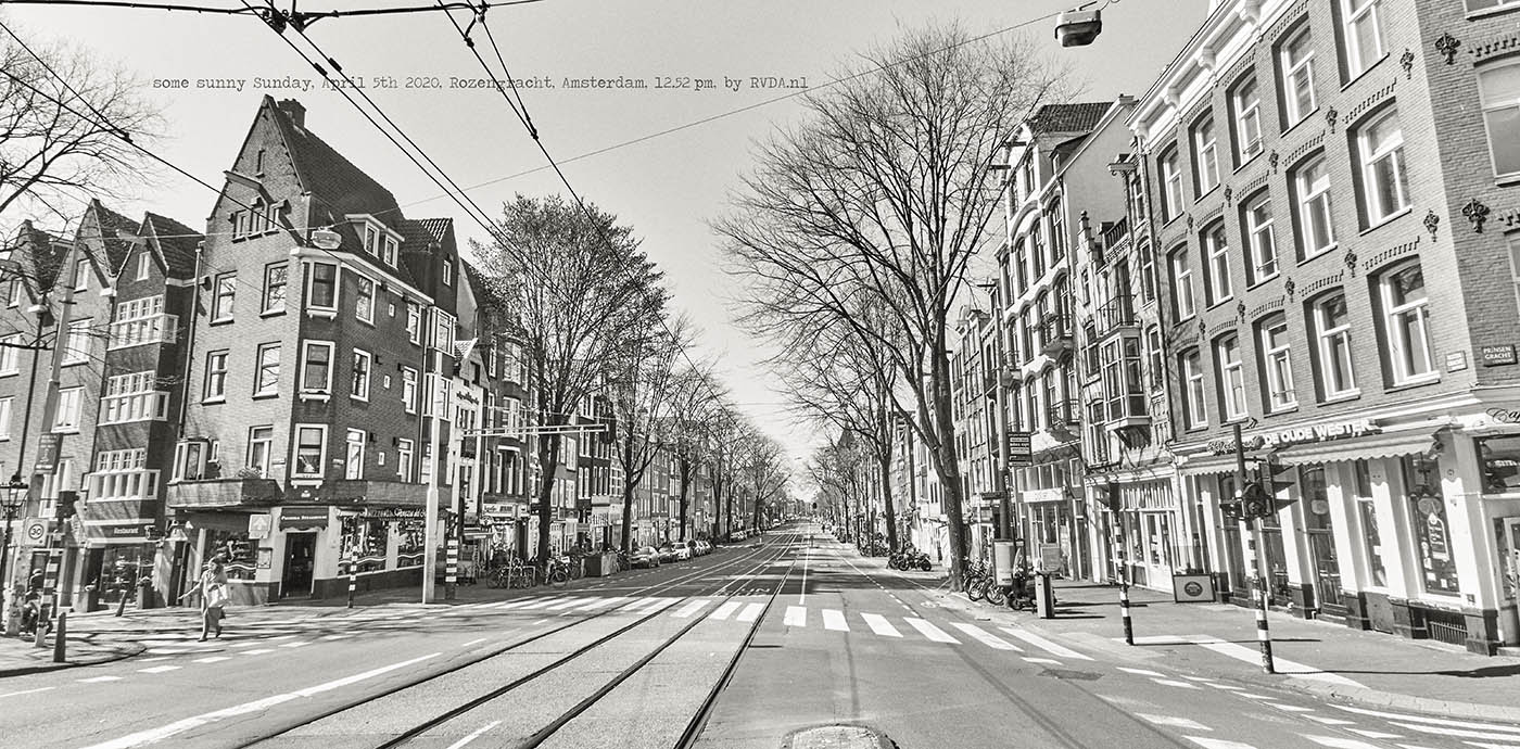 Covid-19-Corona-20-04-05-Amsterdam-by-RVDA-L1017703-Rozengracht-txt