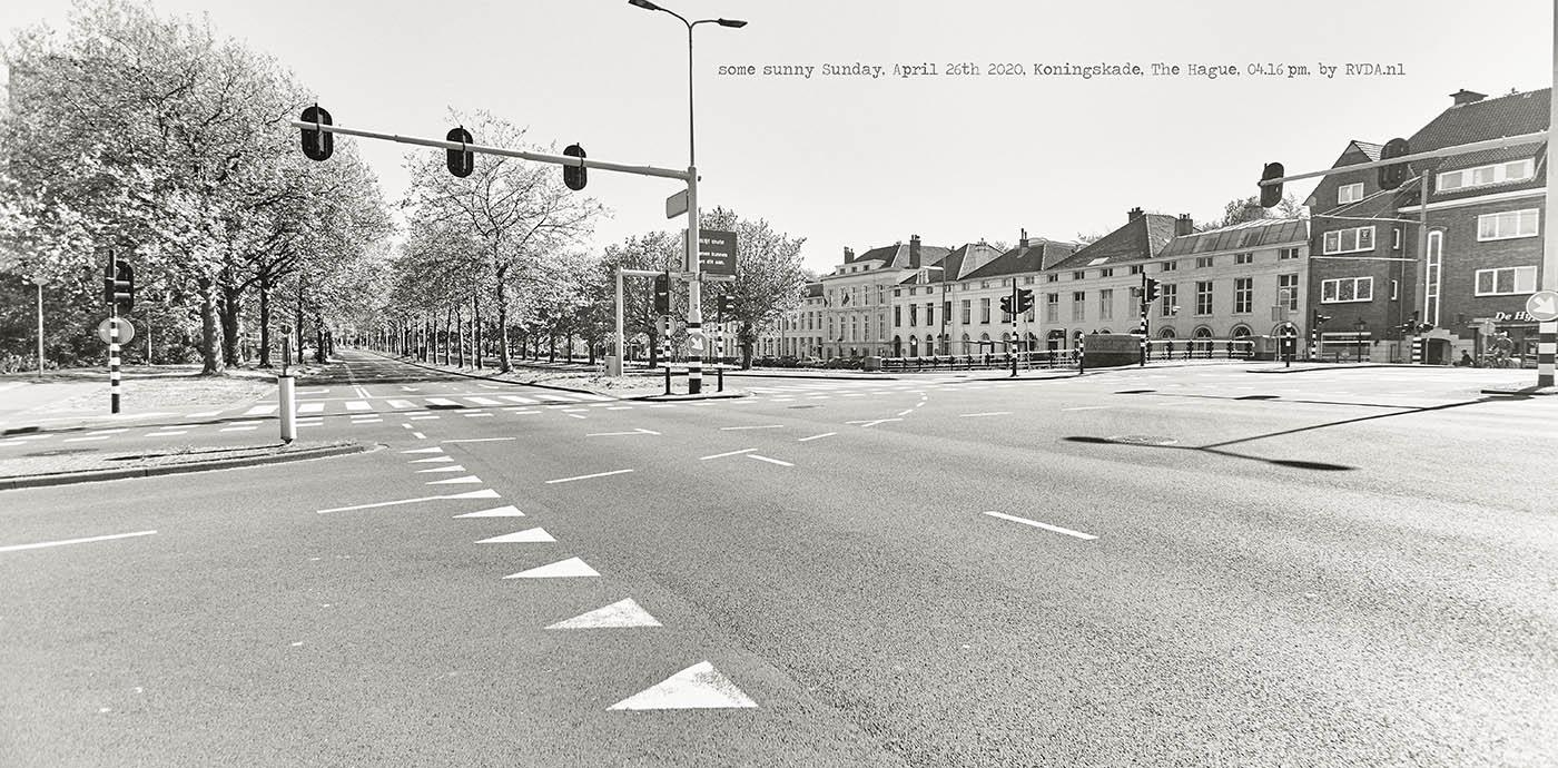 Covid-19-Corona-20-04-26-The-Hague-by-RVDA-L1018699-Koningskade-txt